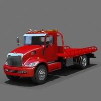 obj flatbed tow truck platform