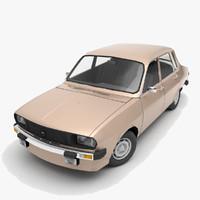 1973 renault 12 tl 3d model