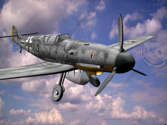 3d messerschmitt model