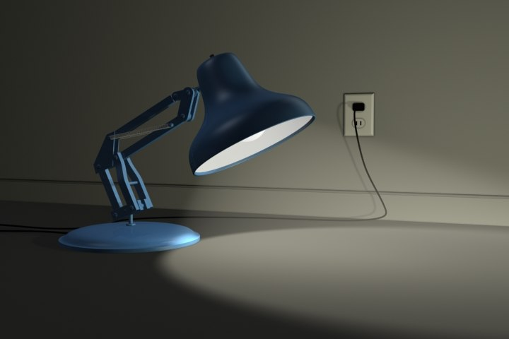 3ds max lamp light