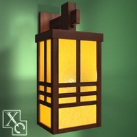 3d model wall lamp shanghai