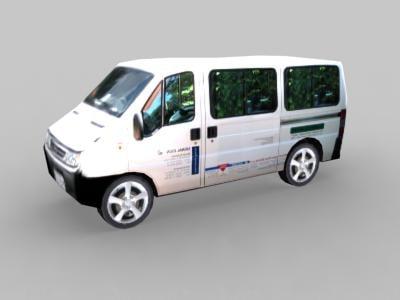 3d model of bus s