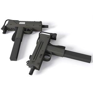 mac-10 machine pistol 3d 3ds