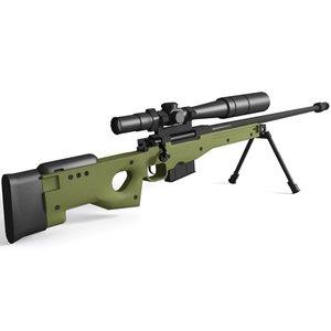 accuracy international rifle 3d model