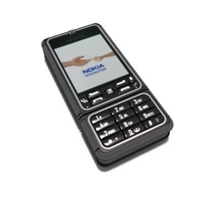 nokia 3250 3d model