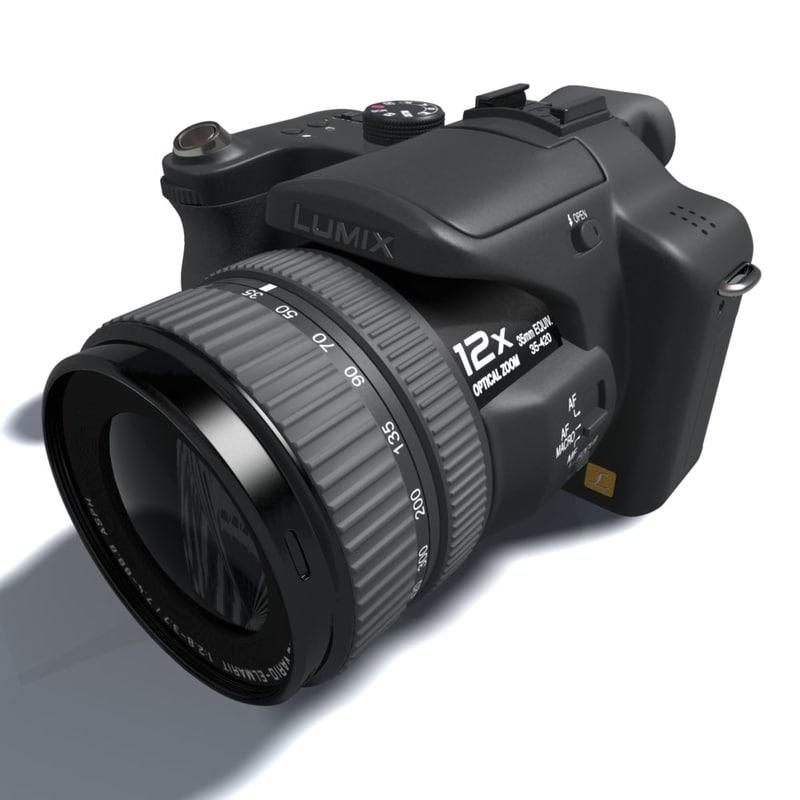 lumix 3d model