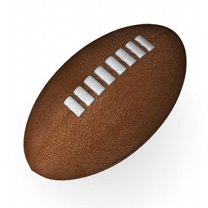 3dsmax rugby ball