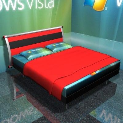 3d bed vista