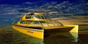 3d model of catamaran boat