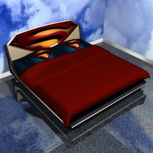 3dsmax bed superman