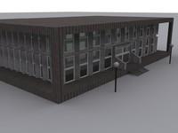free building 3d model