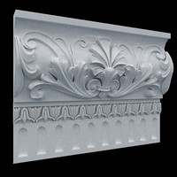3d model of wall crown