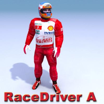 racing driver 3d max