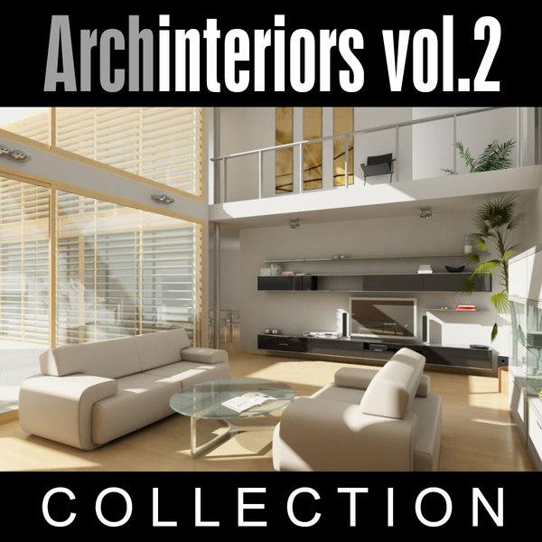 archinteriors vol 2 scenes 3d model