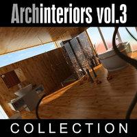 3d archinteriors vol 3 scenes model