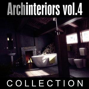 archinteriors vol 4 scenes 3d model