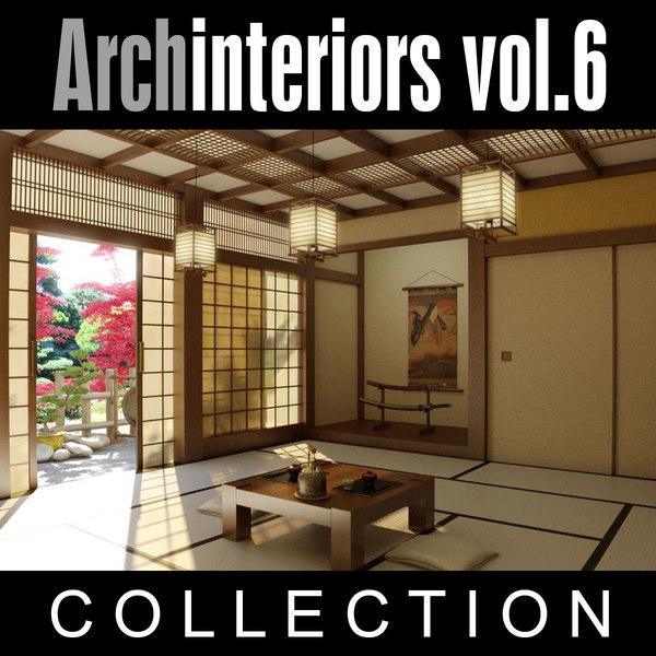 archinteriors vol 6 scenes 3d model