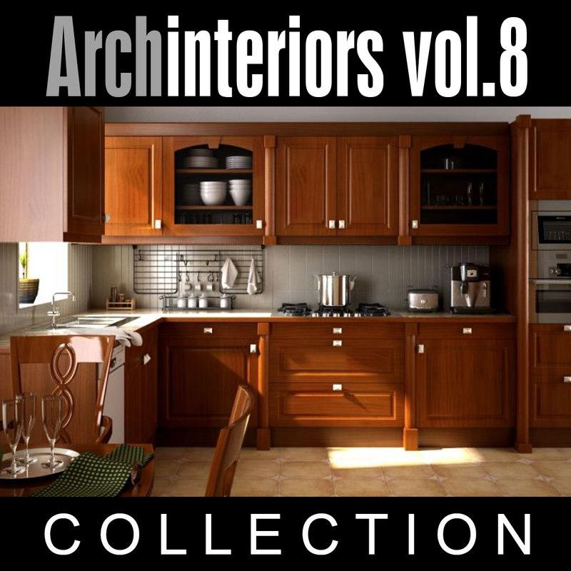 archinteriors vol 8 scenes 3d model