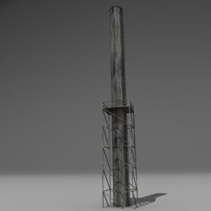 chimney 3d obj