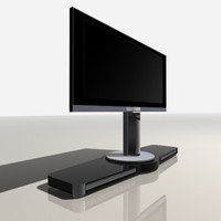 3d model of lcd tv bang olufsen