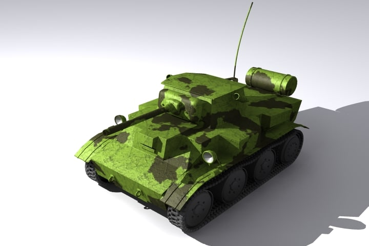 3ds max ged tank