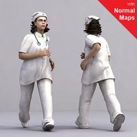 3d model axyz human characters