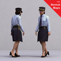 3ds max axyz 2 human characters