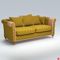 sofa loveseat dxf