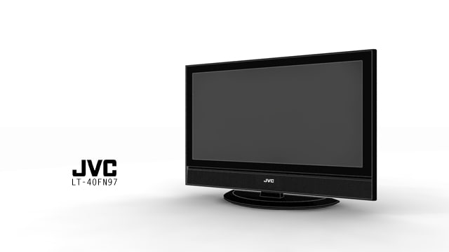 jvc lt-40fn97 lcd tv max