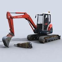 Mini Excavator 1