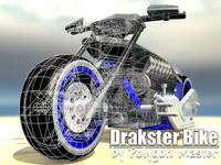 3d moto drakster model