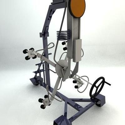 machine 3d c4d