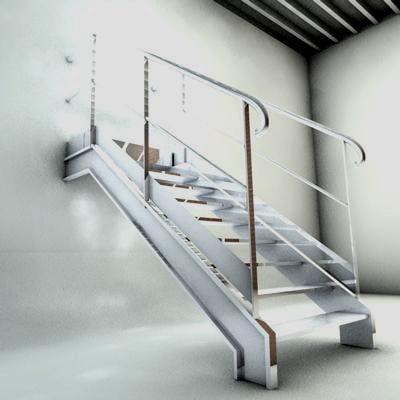c4d stairs