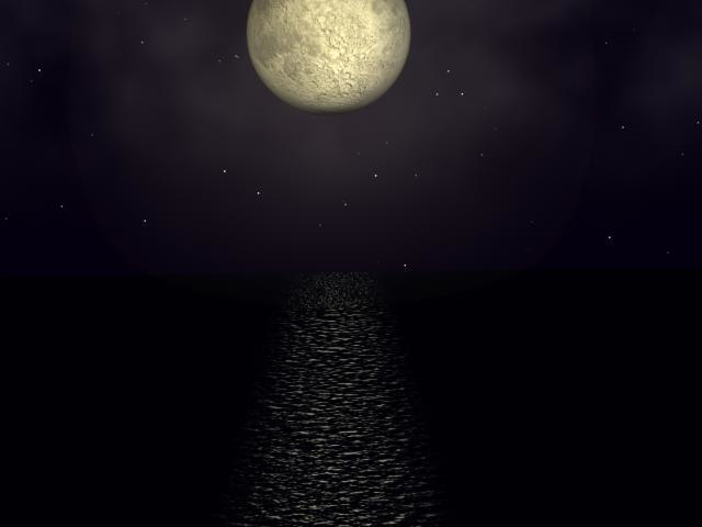 3ds max moon