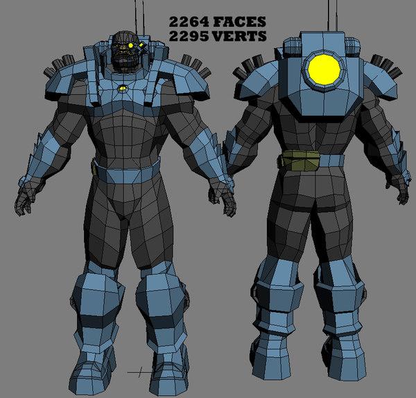 free 3ds mode futuristic grunt