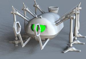 3d model handling machine