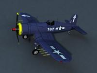 aircraft 3d max