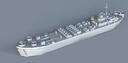 landing ship tank 3d model