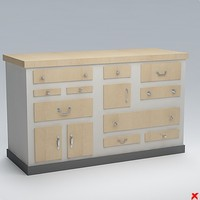 Chest of drawers059.ZIP