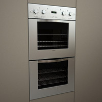 viking designer double oven 3d 3dm