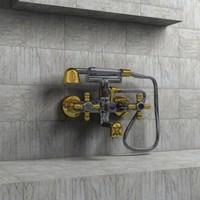 tap faucet 3d model