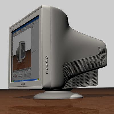 3d crt monitor