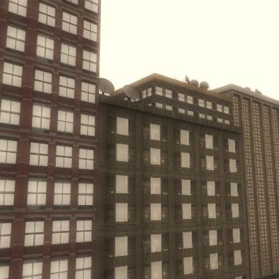 3d 7 buildings