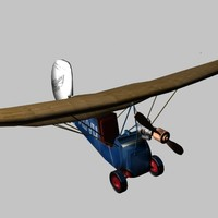 3ds french flying flea