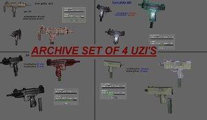 4 uzis archived max free