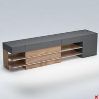 3d model counter desk