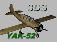 yak 52 3d model