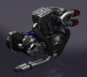 lightwave motorcycle engine