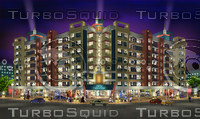 3d scene building