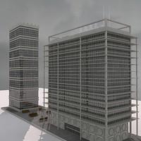 modern build 02 3d model